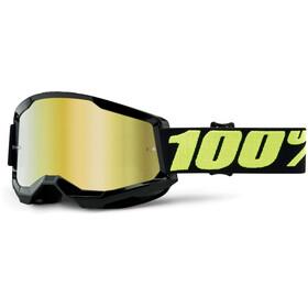 100% Strata Anti-Fog Goggles Gen2 upsol/mirror